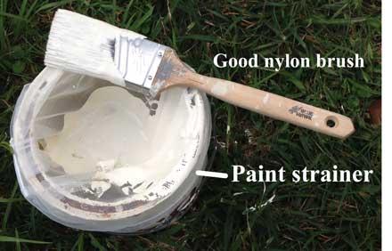 paint strainer