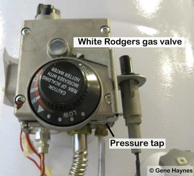 White Rodgers gas control valve