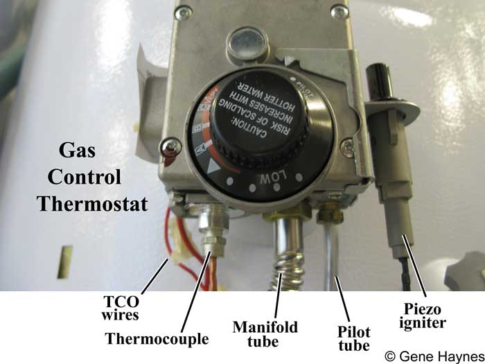 How to test water heater thermocouple identify thermocouple copper tube below gas control if gas water heater ccuart Choice Image