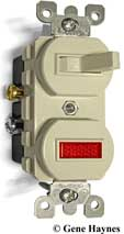 Leviton pilot light switch