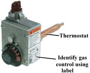gas control label