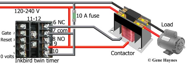 How to wire twin timer omron twin timer manual twin timer or one shot mode incoming power line connects to terminals 9 and 10 timer begins on off operation when power is on swarovskicordoba Choice Image
