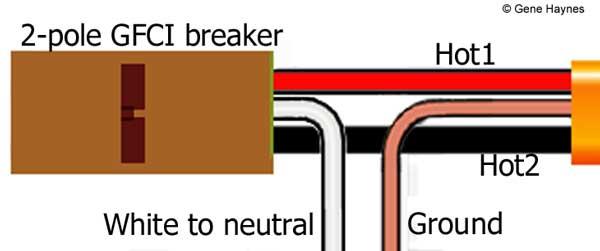 240 volt GFCI breaker