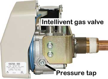 Intellivent gas control valve