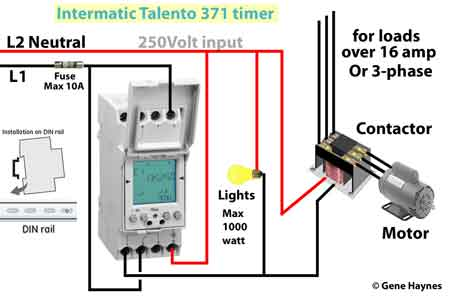 Intermatic Din rail timer wiring 450 din rail timers and manuals din rail wiring diagram at bakdesigns.co