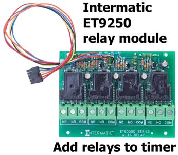Intermatic ET9250 relay module