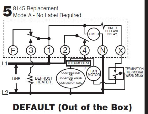 Intermatic dtsx 8145 intermatic defrost timers and manuals Walk-In Freezer Wiring-Diagram at gsmx.co