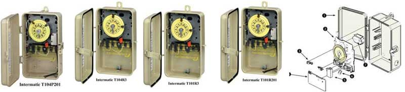 Intermatic pool timers and manuals