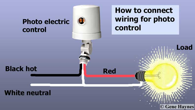 Photocell switch wiring diagram imaia how to install and troubleshoot photo eye rh waterheatertimer org photocell control wiring diagram photoelectric switch circuit diagram asfbconference2016 Choice Image