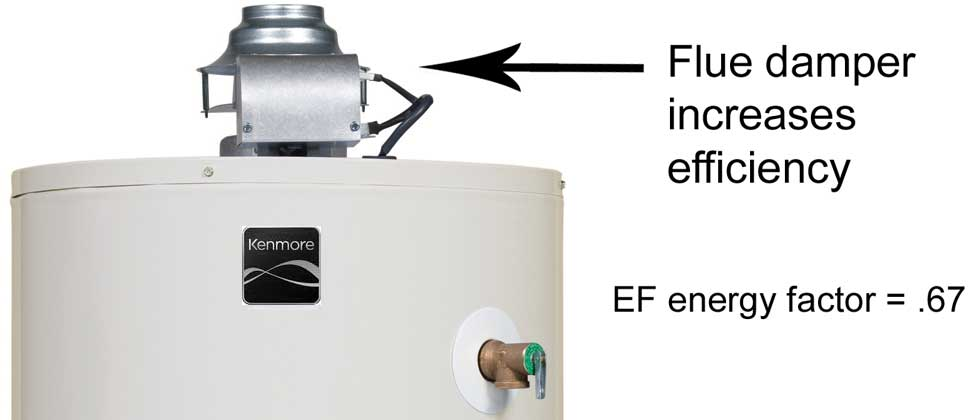 Kenmore_Flue_Damper 1000 review whirlpool flue damper natural gas water heater  at gsmx.co
