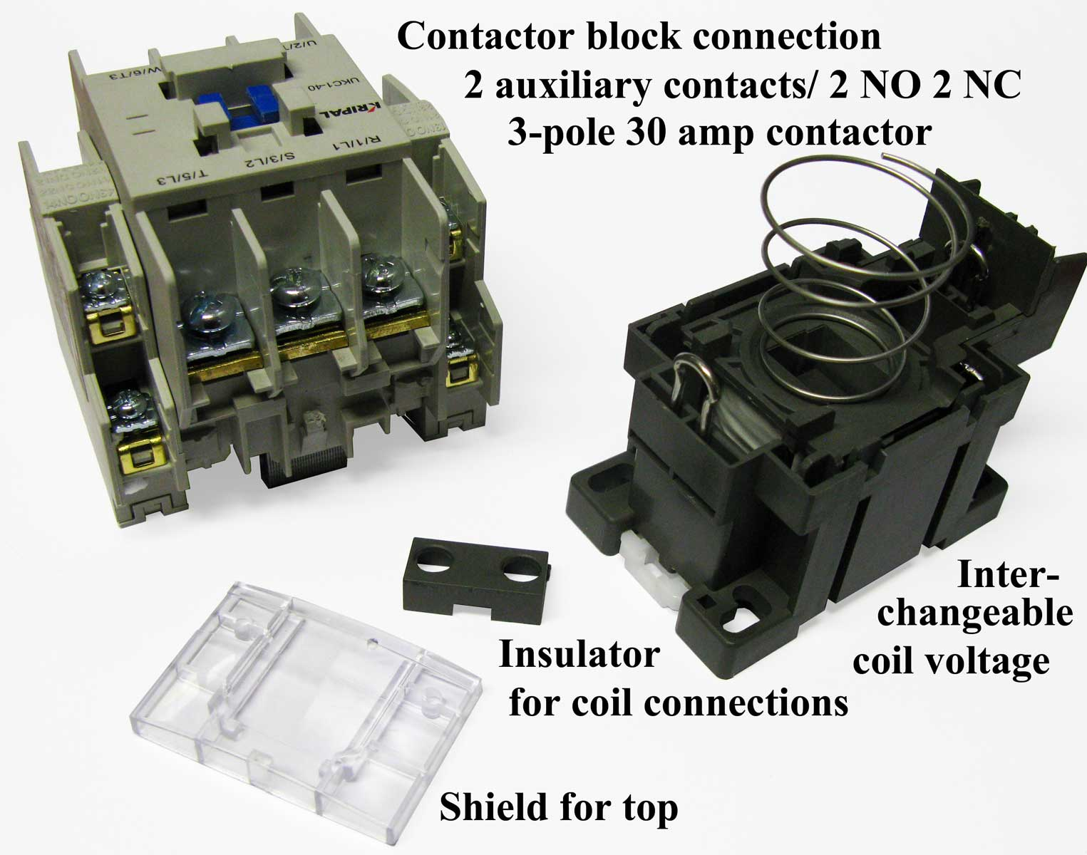 3 Pole Contactors 240 Phase Contactor Wiring Larger Image