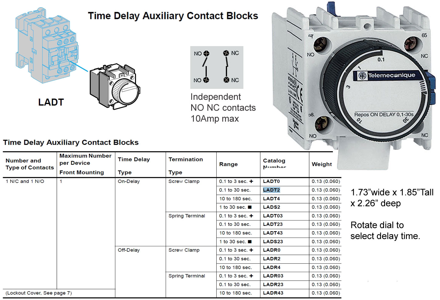 LADT2 on delay contact block how to wire dayton off delay timer dayton off delay timer wiring diagram at et-consult.org
