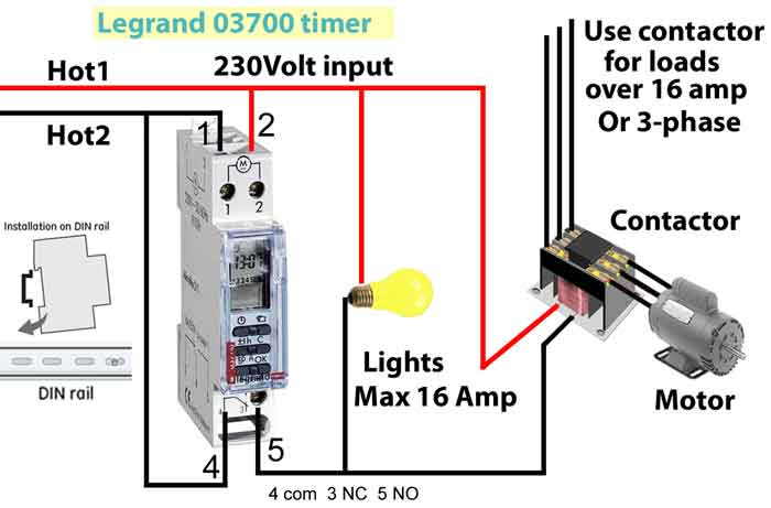 legrand switch wiring instructions legrand image how to wire legrand 03700 timer on legrand switch wiring instructions