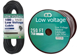 Low voltage wires