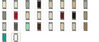 Lutron MA-T51 color selection
