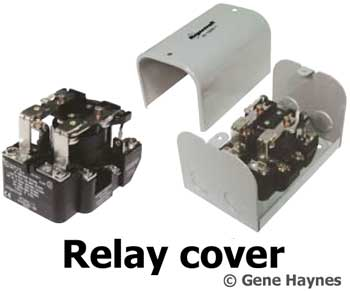 contactors 30 amp 2 pole open frame power relay enclosure