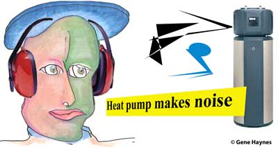 Heat pump makes noise