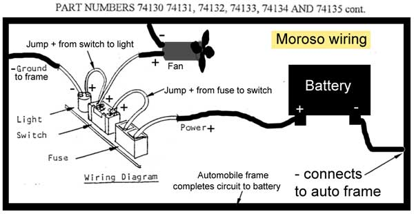 Moroso switch wiring