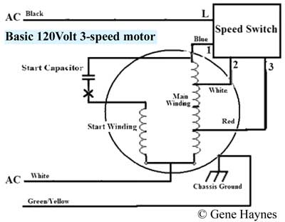 How To Wire 3 Speed Fan Switch on wiring diagram for motor control