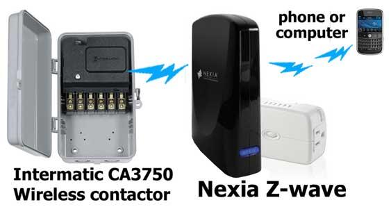 Nexia controls Intermatic CA3750