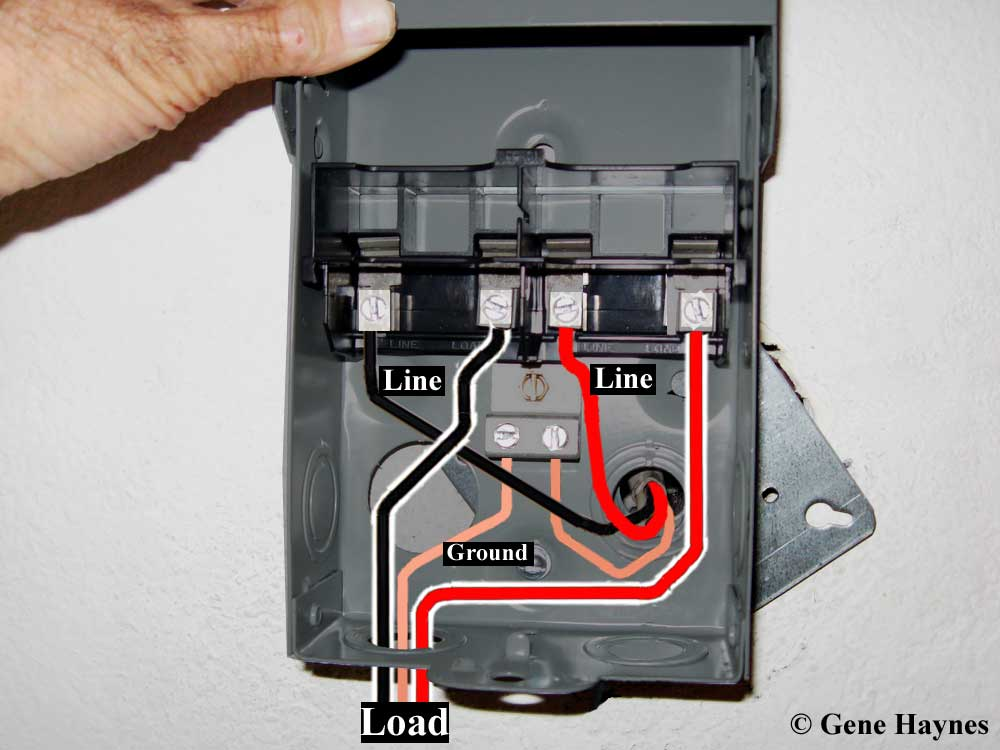 Old Fuse Disconnect Box Wiring - Residential Electrical Symbols •
