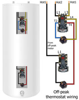 Off peak with tank 161 how to install gas water heater Electric Water Heater Circuit Diagram at sewacar.co