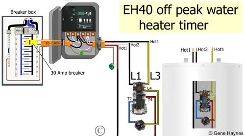 EH40 off-peak water heater