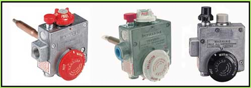 gas control thermostats