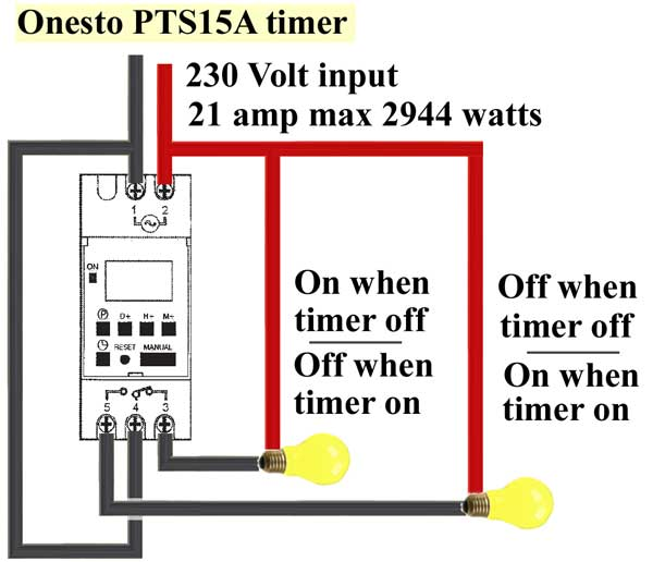 Onesto timer wiring how to install 3 phase timer time clock wiring diagram at soozxer.org