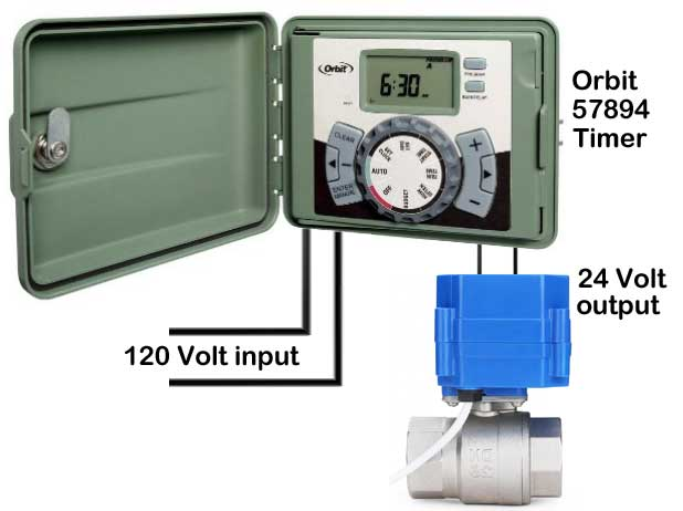 Orbit irrigation timer