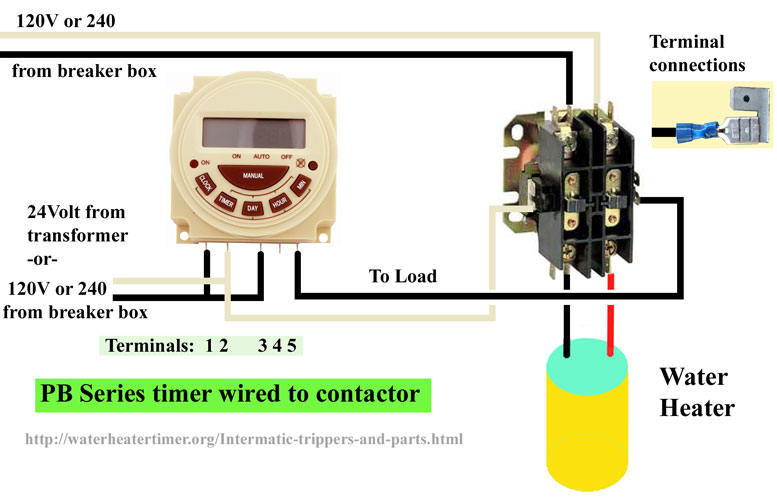 PB 300 series timer wiring 3 intermatic p1103fe cn101a timer wiring diagram at gsmportal.co