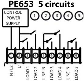 PE653 wiring