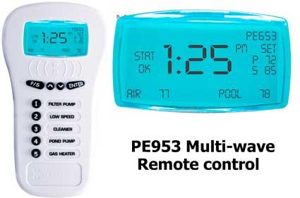 PE953 remote control