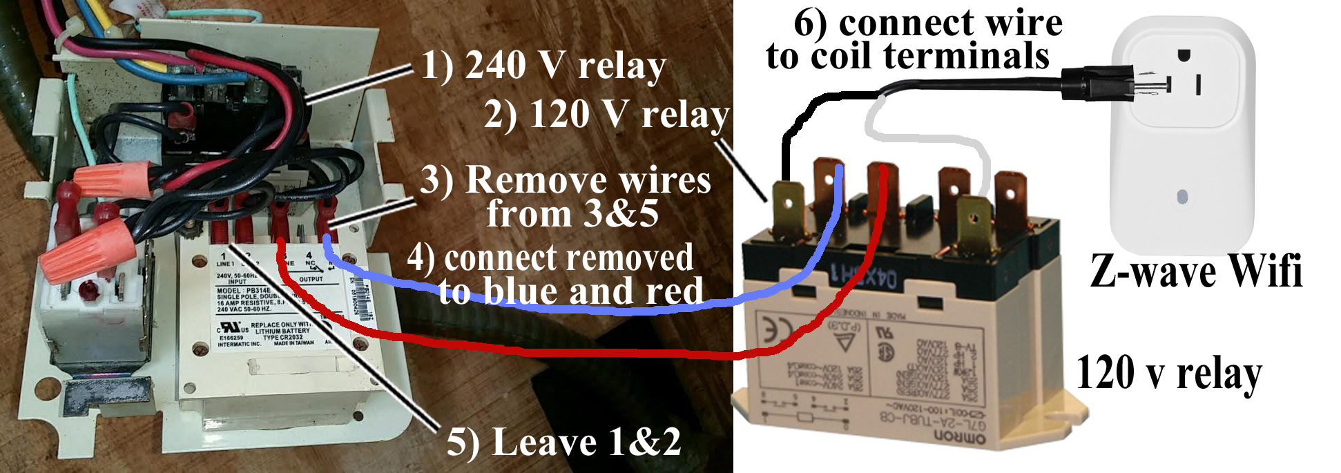 How To Wire Woods 50054 Wion Contactor Wifi Relay Z Wave Switch Wiring Larger Image Or Module Replaces Timer In Pf1102 Pool With Freeze Control This Is Specialized Adaptation Answer An Email