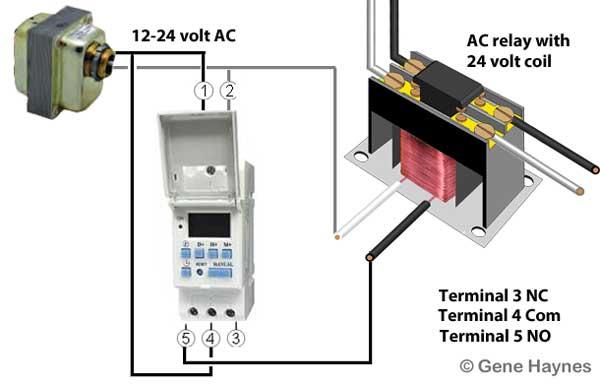 THC 24 volt timer
