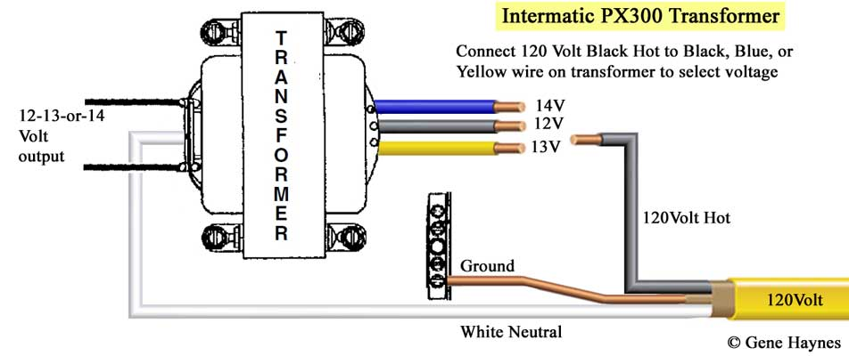 Wiring Low Voltage Transformer WIRE Center - Low voltage lighting transformer wiring diagram