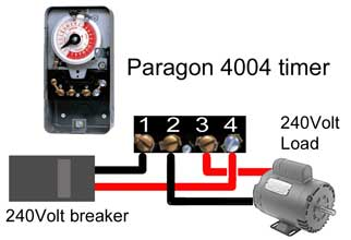 Paragon 4004 wiring