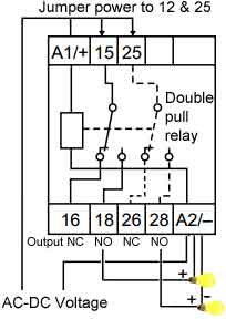 How to wire pin timer