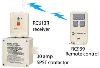 RC613 water heater contactor