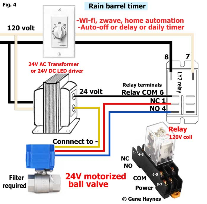 How to wire 3-wire motorized ball valve | Hvac Transformer Wiring Schematics |  | Waterheatertimer.org