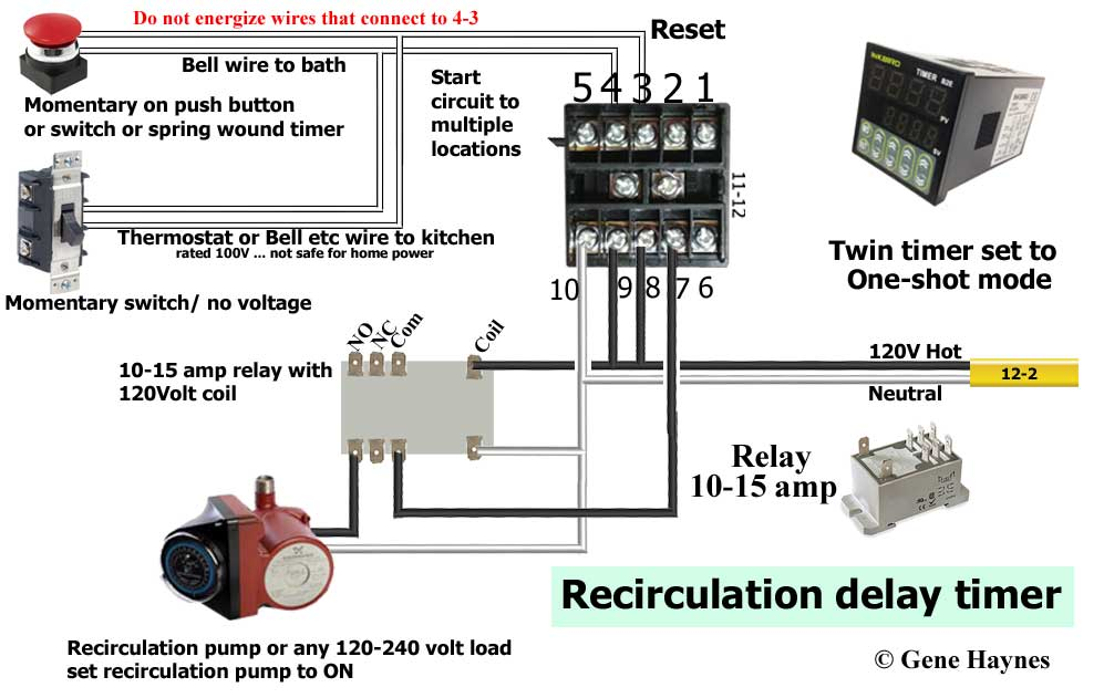 [DIAGRAM_38EU]  How to wire twin timer | T Max Timer Wiring Diagram |  | Waterheatertimer.org