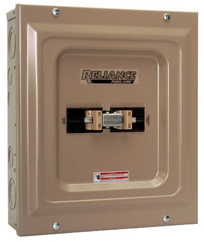 Reliance transfer switch
