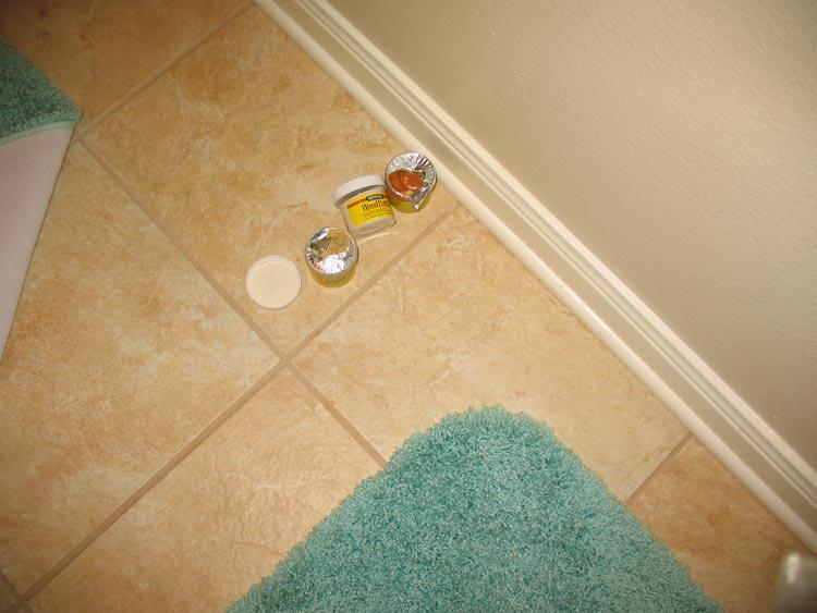 Repair crack in tile