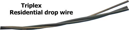 Triple drop wire