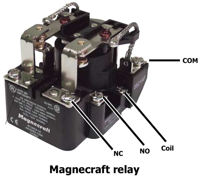 Reverse motor with switch