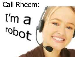 Rheem phone support