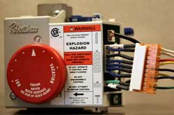 Robert shaw gas control valve