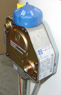 SIT gas control valve for water heater