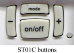 Intermatic ST01C buttons