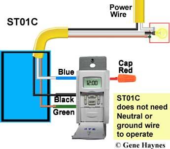 Wire ST01C timer